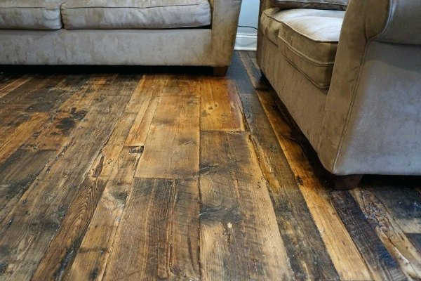 Reclaimed Wood Flooring Installer Bluffton SC