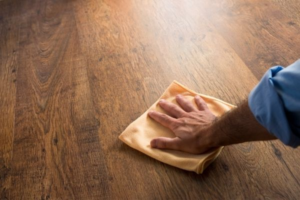 When cleaning hardwood floors, there are a few things to remember: